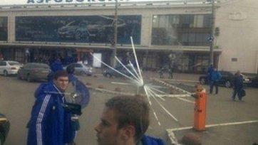 Автобус киевского «Динамо» подвергся нападению