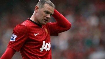 Руни может не сыграть против «Манчестер Сити»