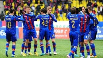 Безоговорочная победа ЦСКА над «Волгой»