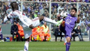 Два пенальти в ворота «Милана» спасли «Фиорентину» от поражения