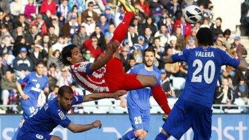«Атлетико» не может выиграть во втором матче подряд