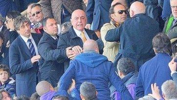 На вице-президента «Милана» совершено нападение