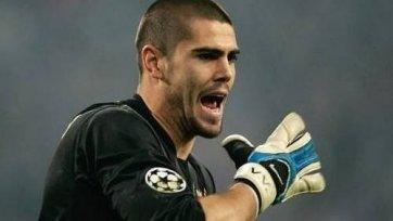 Виктор Вальдес не принимал участие в тренировке «Барселоны»