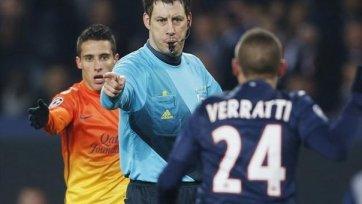 УЕФА не отстраняло Штарка от судейства