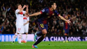 Ничья выводит «Барселону» в полуфинал Лиги чемпионов