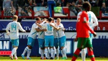 «Зенит» с минимальным счетом обыграл «Локомотив»