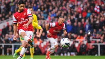 «Арсенал» закрепился на третьем месте