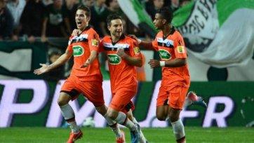 «Лорьян» вырывает путевку в полуфинал Кубка Франции в компенсированное время