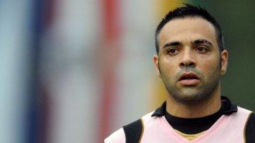 Микколи не сможет помочь «Палермо» в матче против «Катании»