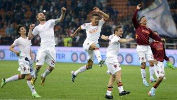 «Рома» расправилась с «Интером» в полуфинале Кубка Италии