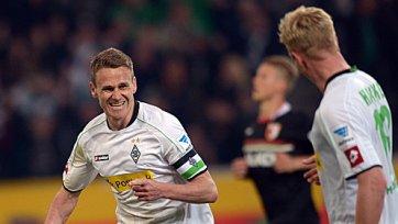 «Боруссия» из Менхенгладбаха в большинстве обыграла «Аугсбург»