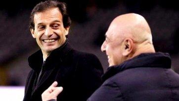 Галлиани: Аллегри продолжит тренировать «Милан»