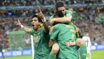 Гол Брандао приносит «Сент-Этьену» Кубок Лиги
