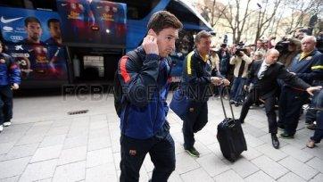Месси вместе с командой отправился в Мюнхен