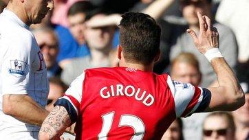 «Арсенал» обратился в ФА с просьбой уменьшить срок дисквалификации Жиру