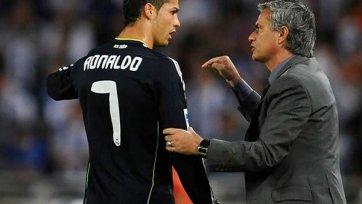 Моуринью выразил надежду, что Роналду продлит свой контракт
