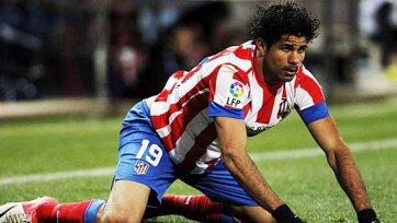 «Атлетико» сможет рассчитывать на Косту в матче с «Реалом»
