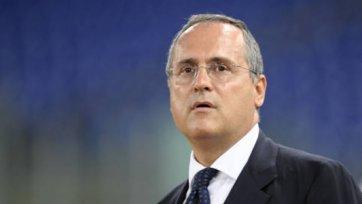 Президент «Лацио» встретился с игроками