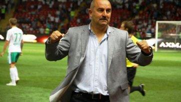 Станислав Черчесов: «Несмотря на ошибки, хочу сказать команде спасибо»