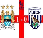 Манчестер Сити - Вест Бромвич (1:0) (07.05.2013) Видео Обзор