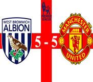 Вест Бромвич - Манчестер Юнайтед (5:5) (19.05.2013) Видео Обзор