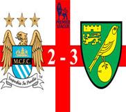 Манчестер Сити – Норвич (2:3) (19.05.2013) Видео Обзор