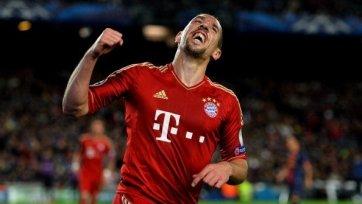«Бавария» планирует продлить контракт с Рибери