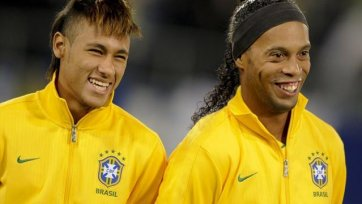 Роналдиньо: «Буду очень рад увидеть Неймара в «Барселоне»