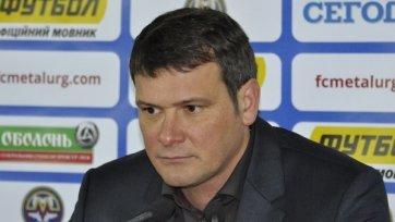 Запорожский «Металлург» остался без главного тренера