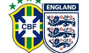 Бразилия — Англия: «товарняк» состоится