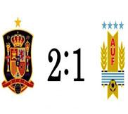 Испания - Уругвай (2:1) (17.06.2013) Видео Обзор