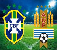 Бразилия - Уругвай (2:1) (26.06.2013) Видео Обзор