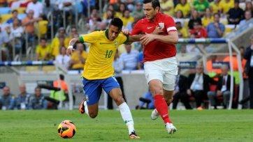 Результативная ничья в матче Бразилия - Англия