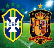 Бразилия - Испания (3:0) (01.07.2013) Видео Обзор