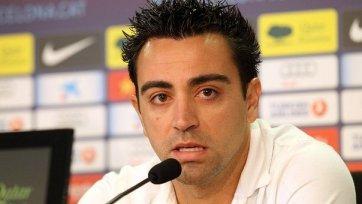Хави: «Рад, что еще минимум три года могу играть за «Барселону»