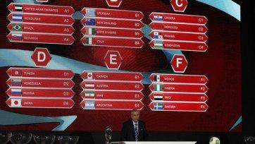 Сборная России узнала соперников по групповому этапу чемпионат мира