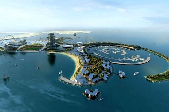 «Черная дыра» на Крестовском острове в Санкт-Петербурге или как ненужно строить стадионы!
