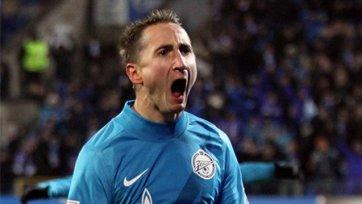 Быстров не поможет «Зениту» в ответном матче Лиги чемпионов