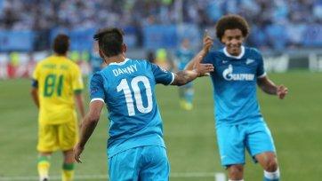 «Зенит» вышел в Лигу чемпионов