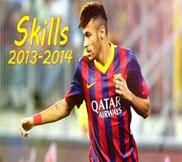 Неймар (Neymar) - Лучшие голы и финты 2013-14!