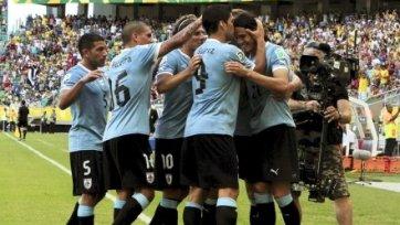 Уругвай обыгрывает Колумбию, Кавани забивает