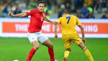Лэмпард: «Нам просто повезло, Украина играла лучше»