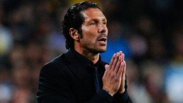 Диего Симеоне доволен игрой «Атлетико»