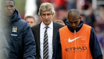 Наставник «Манчестер Сити» остался доволен ничьей со «Сток Сити»
