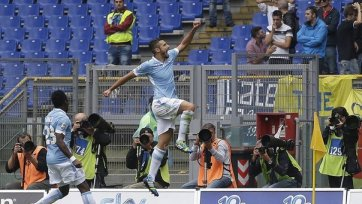 «Лацио» уверенно переиграл «Кьево»