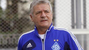 Тренер киевского «Динамо» может продолжить карьеру в Грузии
