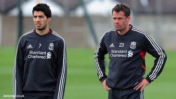 Каррагер: «Луис Суарес должен играть, а Роджерс обязан найти ему место на поле»
