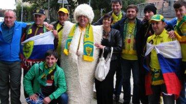 «Анжи» в Молдове поддержат всего лишь 50 болельщиков