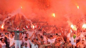 Фанаты «Легии» хулиганили в Риме