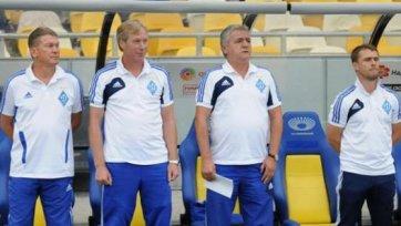 Официально: Сергей Ребров стал ассистентом Блохина
